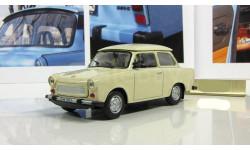 Трабант Trabant Р 601 1969 (ГДР) бежевый IXO IST Автолегенды СССР 1:43