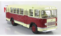 Автобус Лиаз 158 В 1959 бордовый/бежевый СССР ClassicBus 1:43