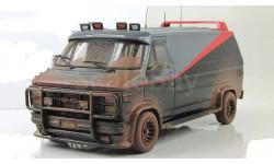 GMC A Team Van (Фургон из фильма Команда А) Hot Wheels Elite 1:43, масштабная модель, 1/43