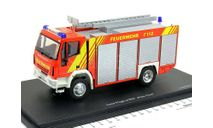 Ивеко Магирус Iveco Magirus RW Feuerwehr 1990 Пожарный Schuco 1:43, масштабная модель, 1/43