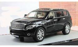 Инфинити Infinity QX 56 2011 4x4 4WD Черный GLM 1:43 VVM108, масштабная модель, 1/43, Infiniti