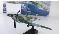 самолет ЯК 9 1943 Великая отечественная война СССР серия Легендарные самолеты IXO De Agostini 1:90, масштабные модели авиации, 1:43, 1/43, DeAgostini (военная серия)