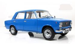 ВАЗ 2101 Жигули Lada Копейка Синий IST 1:18, масштабная модель, 1/18, IST Models