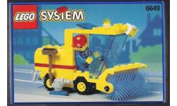 набор Конструктор Лего Уборочный трактор Lego 6649 1995 год Раритет 100 % Оригинал, масштабная модель, scale43