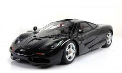 Мерседес Макларен Mercedes Mclaren F1 black AutoArt 1:18 76002
