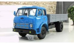 Маз 500 А бортовой голубой / серый 1970 СССР НАП Наш Автопром 1:43