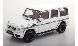 Мерседес Бенц Mercedes Benz G Klasse W463 4х4 Гелендваген Белый I-Scale 1:18 Limited Edition 499 pcs, масштабная модель, Mercedes-Benz, scale18