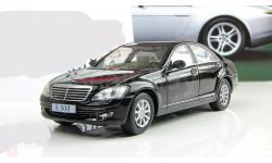 Мерседес Бенц Mercedes Benz S500 S class W221 2005 IXO IST DeAgostini 1:43, масштабная модель, 1/43, Суперкары. Лучшие автомобили мира, журнал от DeAgostini, Mercedes-Benz