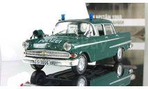 Опель Opel Kapitan Полиция Германии 1972 IXO Полицейские Машины Мира 1:43, масштабная модель, Полицейские машины мира, Deagostini, scale43