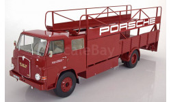 МАН MAN 635 Porsche Renntransporter 1960 Schuco 1:18 Limited Edition, масштабная модель, scale18