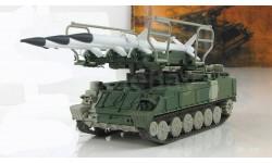 Зенитно ракетный комплекс ЗРК 'Куб' 1967 СССР серия 'Русские танки' 1:72, масштабные модели бронетехники, 1/72, Русские танки (Ge Fabbri)