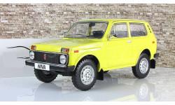 Ваз 2121 Нива 4х4 Желтая СССР IST 1:18, масштабная модель, 1/18, IST Models