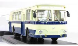 Автобус Лиаз 677 Синий СССР Классик Бус ClassicBus 1 43, масштабная модель, 1:43, 1/43