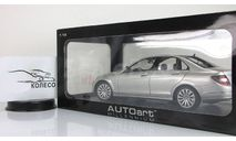 Мерседес Бенц Mercedes Benz C Klass Elegance W204 2007 AutoArt 1:18 76261 БЕСПЛАТНАЯ доставка, масштабная модель, 1/18, Mercedes-Benz