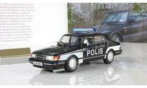 Сааб Saab 900 Turbo Finland Police Poliisi 1978 IXO Полицейские машины мира 1:43, масштабная модель, Полицейские машины мира, Deagostini, scale43
