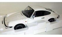 Порше Porsche 911 Carrera 3.2 Coupe Grand Prix White 1985 Premium ClassiXXs 1:12 10153, масштабная модель, 1/12