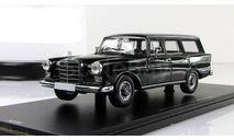 Мерседес Бенц Mercedes Benz 220 UNIVERSAL Черный W110 SPARK ADLER 1:43, масштабная модель, 1/43, Mercedes-Benz