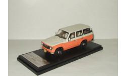 Тойота Toyota Land Cruiser 60 Flex Dream 1982 4x4 4WD Amber/White Hi-Story 1:43 HS061SP2, масштабная модель, 1/43