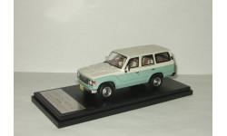 Тойота Toyota Land Cruiser 60 Flex Dream 1982 4x4 4WD Green/White Hi-Story 1:43 HS061SP3
