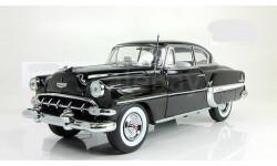 Шевроле Chevrolet Bel Air Hard Top Coupe 1954 черный Sunstar 1:18