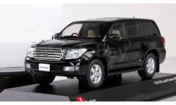 Тойота Toyota Land Cruiser 200 4x4 4wd 2009 Черный J-Collection Kyosho 1:43 JCP69002B
