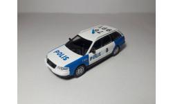 Audi A6 Аvant (Полиция Швеции ПММ №38) 1/43, масштабная модель, 1:43