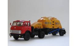 МАЗ 504В ( Конверсия НАП ) + П/прицеп К4-АМГ (Ретролаб ), масштабная модель, scale43