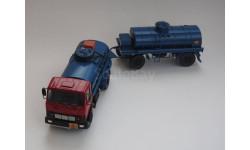 МАЗ 5337 Тз-9 + ПЦ -6,7-8925 Ник Моделс, масштабная модель, 1:43, 1/43