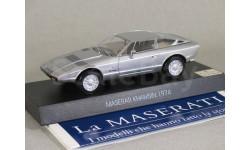 Maserati Khamsin 1974, масштабная модель, 1:43, 1/43