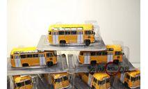 kultowe autobusy prl-u автобус ПАЗ-672М масштаб 1:72, журнальная серия Kultowe Auta PRL-u (Польша), DeAgostini-Польша (Kultowe Auta), scale72