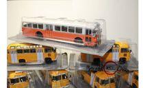 kultowe autobusy prl-u автобус Scania Vabis D11 масштаб 1:72, журнальная серия Kultowe Auta PRL-u (Польша), DeAgostini-Польша (Kultowe Auta), 1/72