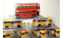 kultowe autobusy prl-u автобус Leyland RTV 75 масштаб 1:72, журнальная серия Kultowe Auta PRL-u (Польша), DeAgostini-Польша (Kultowe Auta), 1/72