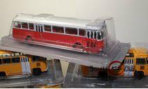 kultowe autobusy prl-u автобус Renault S45-R4210 масштаб 1:72, журнальная серия Kultowe Auta PRL-u (Польша), DeAgostini-Польша (Kultowe Auta), 1/72