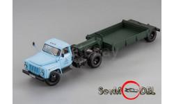 Бесплатная доставка! ГАЗ-52-06, г. Черкесск 1985 г., с прицепом для перевозки сыпучих грузов