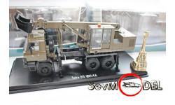 Экскаватор-планировщик Tatra-815 UDS-114А ХАКИ, масштабная модель, Start Scale Models (SSM), 1:43, 1/43