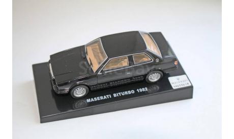 Maserati Biturbo 1982, журнальная серия масштабных моделей, 1:43, 1/43, DeAgostini