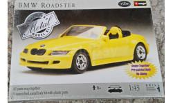 Burago КИТ 1/43 BMW Roadster, масштабная модель, 1:43