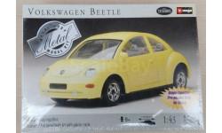 Burago Testors Конструктор 1/43 Volkswagen Beetle