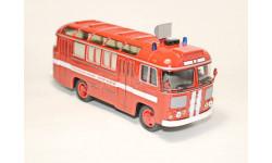 Советский Автобус 1/43 ПАЗ-672М пожарный, масштабная модель, 1:43
