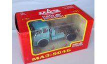 Наш автопром  маз-504Б ТЯГАЧ голубой., масштабная модель, 1:43, 1/43