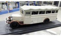 MiniClassic 1/43 ЗиС-8 автобус курортный, Миникласик, масштабная модель, 1:43