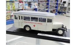 MiniClassic 1/43 Автобус ЗИС-8 Медицинский