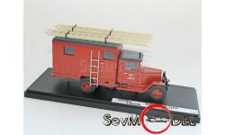 MiniClassic 1/43 ЗиС-5 Pumpers , пожарный, масштабная модель, 1:43