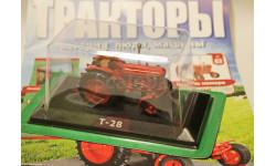 Тракторы: история, люди, машины №63 Т-28, журнальная серия Тракторы. История, люди, машины (Hachette), 1:43, 1/43