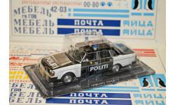 Полицейские Машины Мира VOLVO-244, журнальная серия Полицейские машины мира (DeAgostini), 1:43, 1/43, Полицейские машины мира, Deagostini, Mercedes-Benz