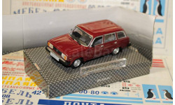 BAUER 1/43 ВАЗ-2104 красный, масштабная модель, 1:43, Bauer/Cararama/Hongwell