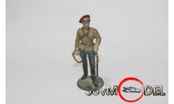 Бесплатная  доставка! Оловянный  солдатик 54 мм . Русский казак, фигурка, 1:32, 1/32, Ручная работа