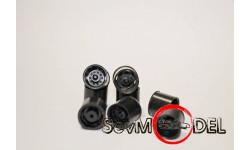 1/43 Диск задний  КРАЗ-250 штамповка , 4 прорези ..... Maestro Models (Харьковская резина), запчасти для масштабных моделей, 1:43