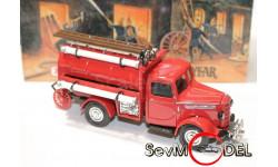 Bedford Tanker 1939  серия пожарные машины, масштабная модель, 1:43, 1/43, Matchbox