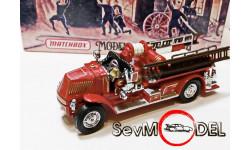 Mack AC пожарный , серия пожарные машины, масштабная модель, Matchbox, scale43